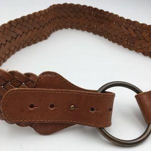 Braided Leather Boho Belt Gap